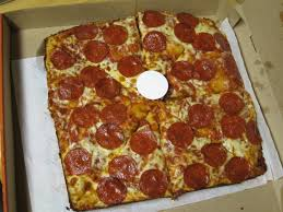 review little caesars pepperoni deep dish pizza
