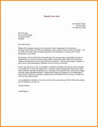 Resume Cover Letter Volunteer Work Archives Resume Sample