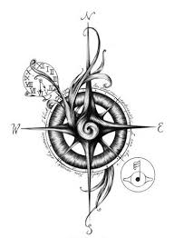 compass design unique compass tattoo design