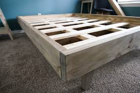 how to build a platform bed for 50