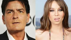 What pornstar was with charlie sheen