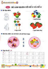 Sách Tủ Sách Bé Vào Lớp 1 - Bé Vui Học Toán (Dành Cho Trẻ Mẫu Giáo 4 - 5  Tuổi) - FAHASA.COM