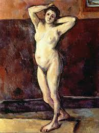 Nude women in paintings