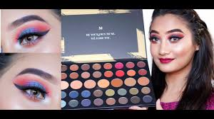 morphe 39a dare to create palette review swatcheakeup tutorial