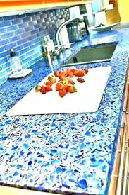 recycled glass crushed estimate countertops cost vs quartz gl