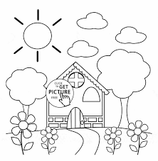 Small Picture Coloring Color Pages For Preschoolers Pages For Preschool Sheets