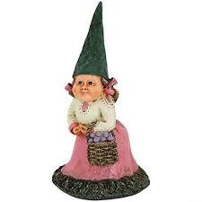 female garden gnome. Interesting Female Sunnydaze Garden Gnome Isabella The Female Lawn Statue Outdoor Yard  Ornament 8 Inch Tall For E