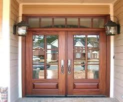 craftsman style front doors with glass door home depot