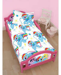 toddler bed my little pony bedding