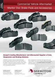 Meritor Disc Brake Pads Accessories