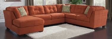 Furniture Ashley Furniture Charleston Sc With Orange Sofa And