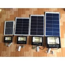 Đèn Led pha năng lượng mặt trời (30W/60W/100W/200W) siêu sáng - Có chế độ  bật tắt tự động, điều khiển từ xa, chống nước IP67 - Đèn ngoài trời Thương  hiệu GS