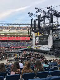 Taylor Swift Gillette Stadium Seating Chart Gillette Stadium Section 129 Row 20 Seat 5 Taylor Swift Tour