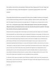 primary document analysis document mary wollstonecraft criti  2 pages essay 3