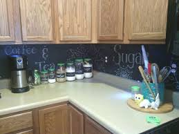 Paint Backsplash Impressive Chalkboard Paint Backsplash 48 Bestpatogh
