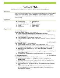 Call Center Customer Service Representative Resume   ilivearticles