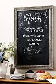 Chalkboard Kitchen Chalkboard Kitchens A Crafty Trend Blog Home And Garden