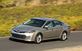 First Drive: 2013 Toyota Avalon and Avalon Hybrid - Automobile ...