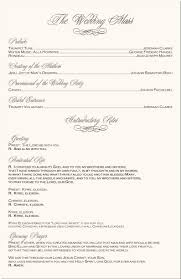 Catholic Wedding Mass Program Catholic Ceremony Program Rome Fontanacountryinn Com