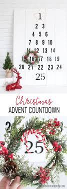 Christmas Advent Countdown - Packed with Creativity - Advent calendar DIY