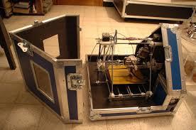 project 9 flight case for 3d printer