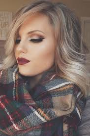 the 25 best ideas about winter makeup on full face makeup burgundy lips and holiday makeup
