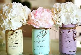 How To Decorate Mason Jars Mason Jar Crafts How To Chalk Paint Your Mason Jars 10