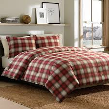 brilliant plaid flannel duvet cover queen r e d b u f a l o p i twin single q t ed bauer navigation comforter set from