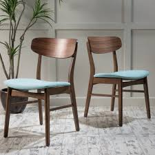 christopher knight fabric upholstered wood dining chairs set of 2
