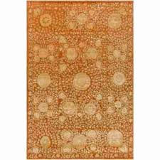 stylish 8 area rug under 200 basquiat rust red 6 ft 7 in x 9 indoor