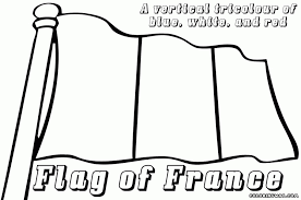Small Picture The Most Elegant France Flag Coloring Page to Encourage to color