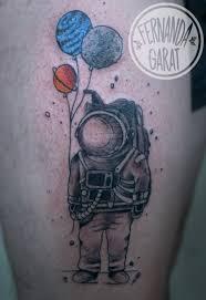 Astronaut Astronauta Astronaut Tattoo Moon Jupiter Saturn