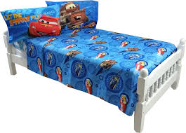 Lightning Mcqueen Bedroom Furniture Cars 2 Sheet Set Walmartcom