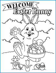Free Printable Coloring Pages For Preschoolers Great Bunny Kids