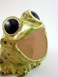 frog for the kitchen sponge vintage ceramic by sfleck01 on etsy