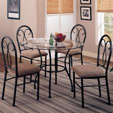 rot iron furniture. Charming Wrought Iron Dining Room Table Base With Wood Metal Furniture Sets Black Gallery Images Nice Looking Design Small Round Glass Combine Rot