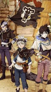 Black Clover Wallpaper - NawPic