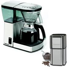 With useful measurement markings inside the removal stainless steel bowl, you can grind the exact quantity of beans you need for your next cup or pot of coffee at the touch of a button. Bonavita Bv1800 8 Cup Coffee Maker With Glass Carafe With Cuisinart Grind Central Coffee Grinder Awesome Pr Coffee Gifts Bonavita Coffee Maker Coffee Maker