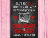 valentines day pregnancy announcement cards miracle valentines day pregnancy announcement valentines day