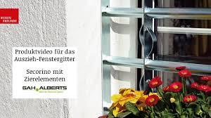 Fenstergitter Secorino Mit Zierelementen Von Gah Alberts