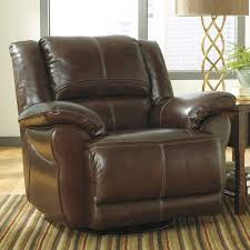 picture of coffee swivel rocker recliner