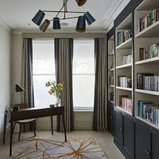 traditional home office design. Two-in-one Library And Home Office Traditional Design
