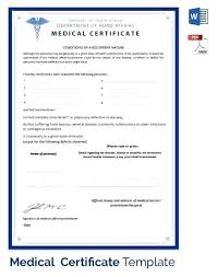 Write Fake Doctors Note Fake Medical Certificate Template Utopren Me