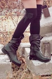 black leather boots ankle boots booties handmade boots