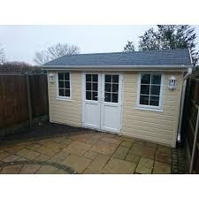 timber garden office. MMGS Luxury Garden Studio - Office- Summer House From 2.4m 4.2m Timber Office