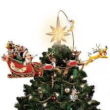 Lighted Globe Led Revolving Tree Topper The Bradford Exchange Disneys Timeless Holiday Treasures