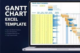 Free Project Planner Gantt Chart Excel Template