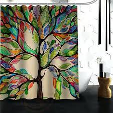 tree of life shower curtain custom the tree of life custom shower curtain more size waterproof tree of life shower curtain