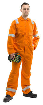 Roots Ro13090lw Flamebuster Lightweight 250gm Fire Resistant Work Fr Coverall