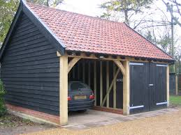 timber garage cartlodge timber garage cartlodge timber garage cartlodge bespoke brickwork garage office